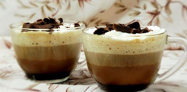 вкусный кофе гляссе