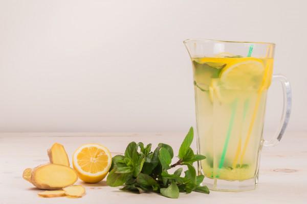 как готовить имбирный лимонад