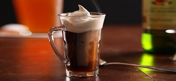 как приготовить кофе с коньяком