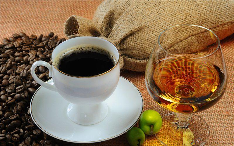 кофе с коньяком рецепт