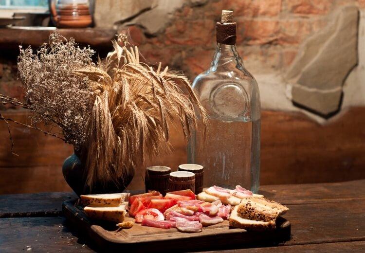 самогон из пшеницы