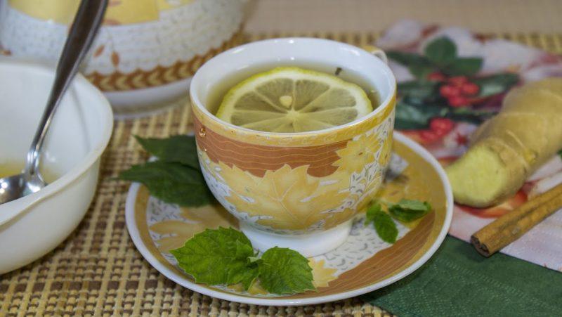 вкусный зеленый чай
