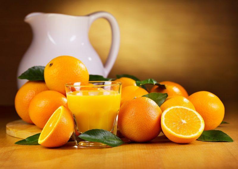 как готовить апельсиновый сок
