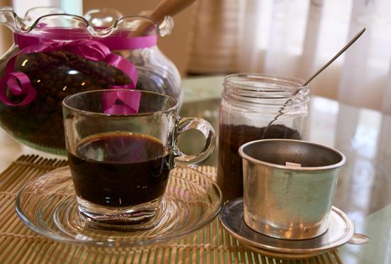 как приготовить вьетнамский кофе