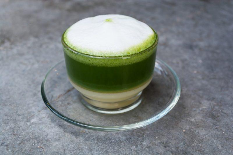 как приготовить зеленый чай с молоком
