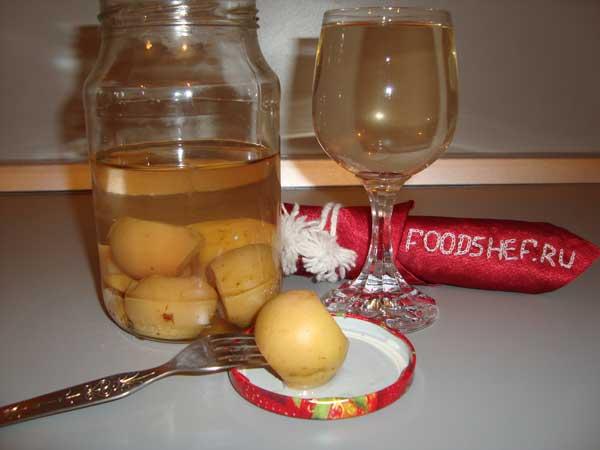 как приготовить компот из груш