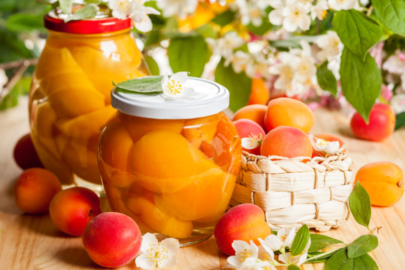 компот из абрикосов рецепт