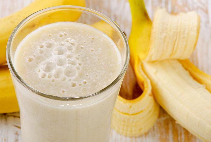 лучший молочный коктейль с бананом