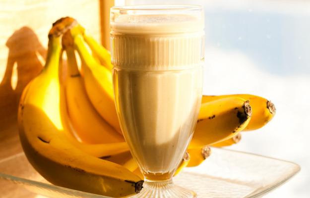 молочный коктейль с бананом рецепты
