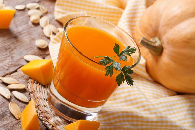 сок из тыквы