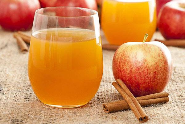яблочный сок рецепт