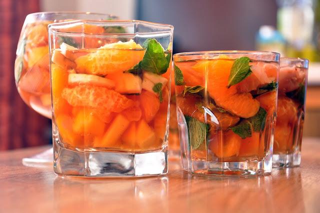 вкусный компот из персиков