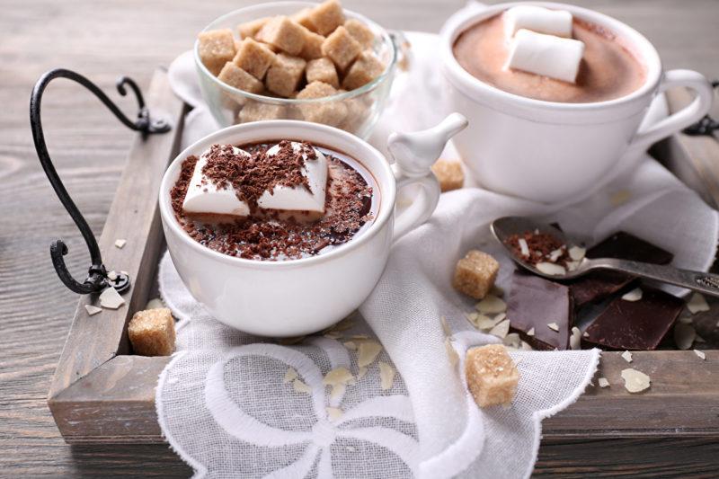 как готовить горячий шоколад