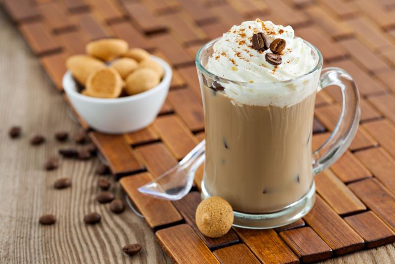 как сделать кофе с мороженым