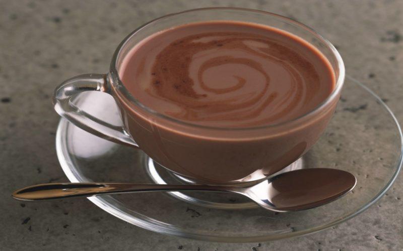 как приготовить горячий шоколад