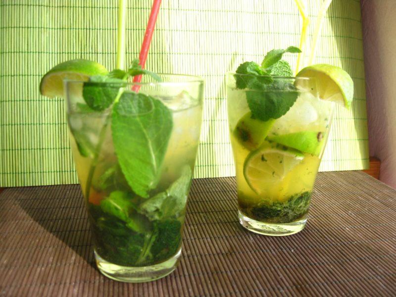 как приготовить мохито безалкогольный