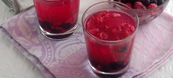 кисель из ягод рецепт