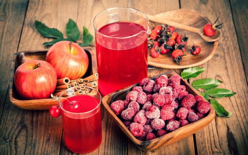 компот из замороженных ягод рецепт