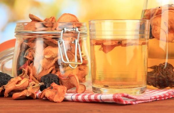 компот из сушеных яблок рецепт