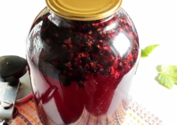 компот из черной смородины рецепт