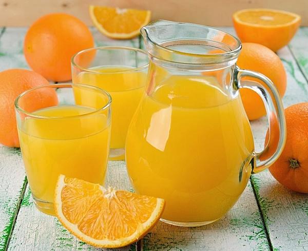 лимонад из апельсинов