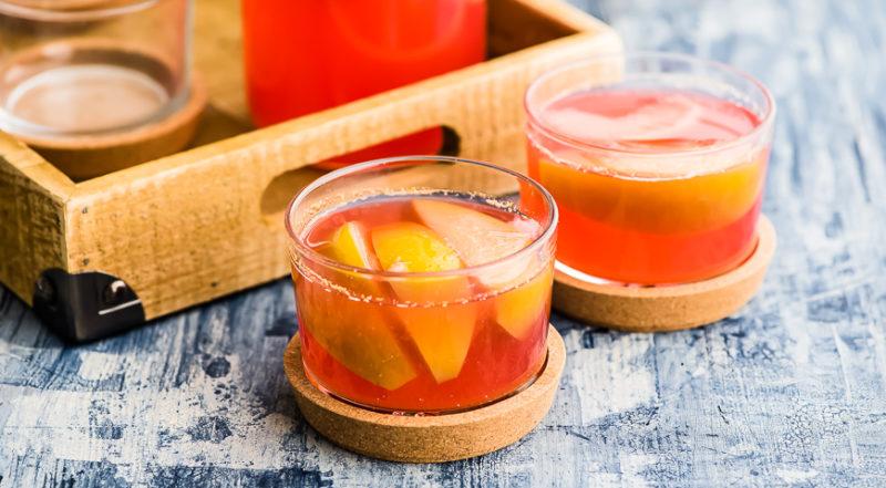 лучший компот из персиков