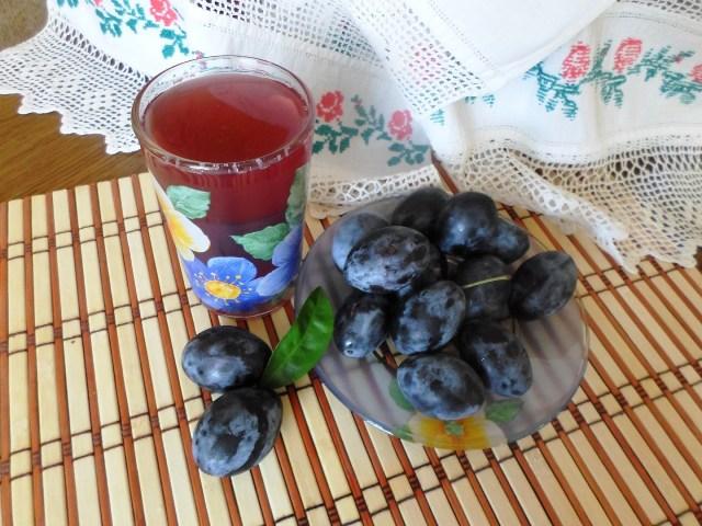 сливовый компот рецепт