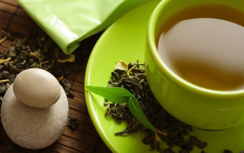 зеленый чай с молоком рецепт