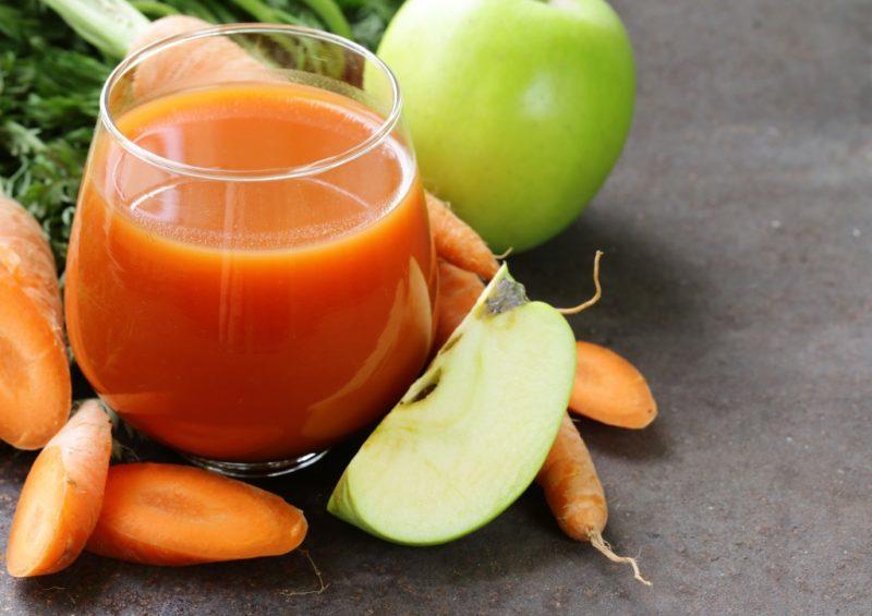 как готовить морковный сок