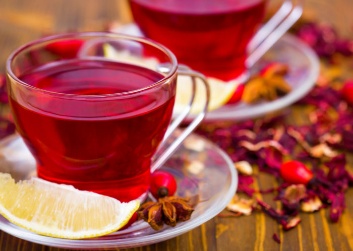 как приготовить красный чай