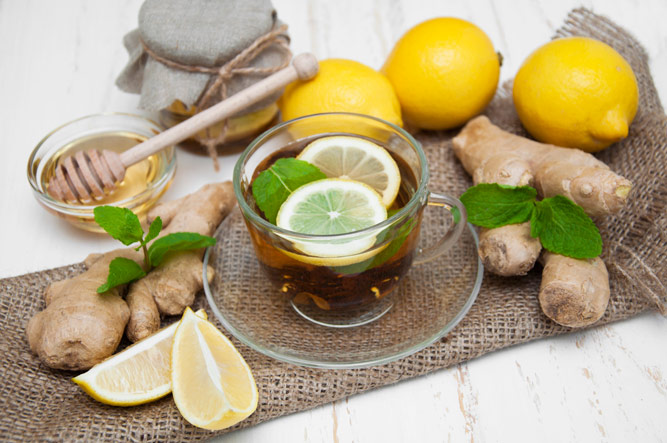 как приготовить чай с имбирем