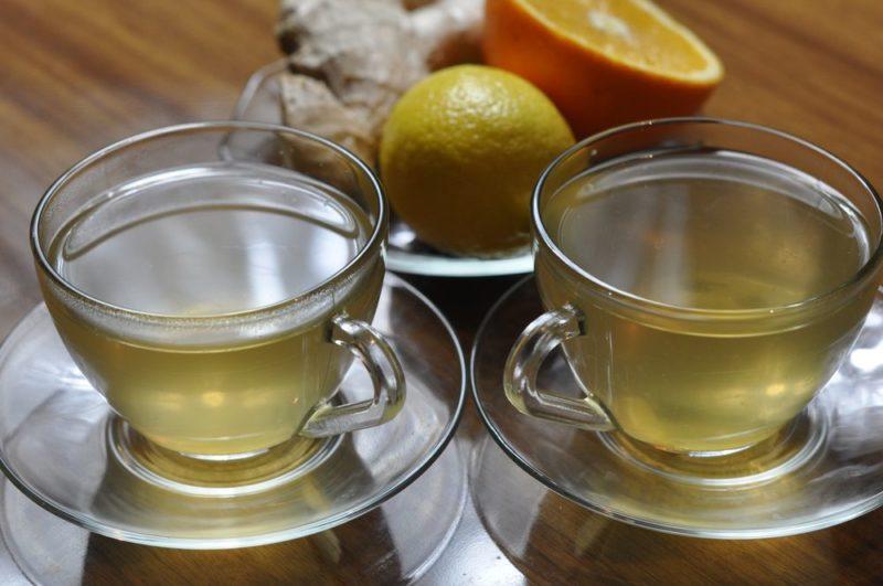 чай с имбирем рецепт